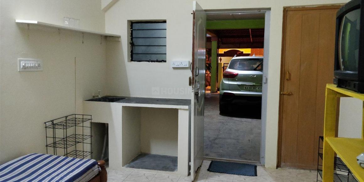 Bedroom Image of 350 Sq.ft 1 RK Independent Floor for rent in Hennur for 6950