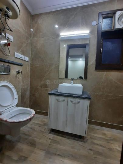 मालवीय नगर में प्राइवेट रूम पीजी फॉर गर्ल्स के बाथरूम की तस्वीर
