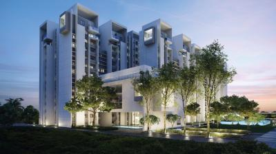 Gallery Cover Image of 589 Sq.ft 1 BHK Apartment for buy in Rohan Akriti, Subramanyapura for 3500000