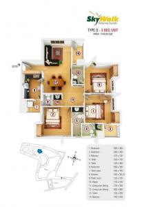 Gallery Cover Image of 1748 Sq.ft 3 BHK Apartment for rent in Thondayad for 35000