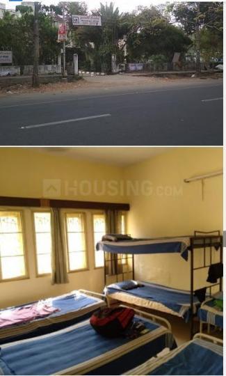 अन्नानगर ईस्ट में एवर ग्रीन यूथ होस्टल के बेडरूम की तस्वीर