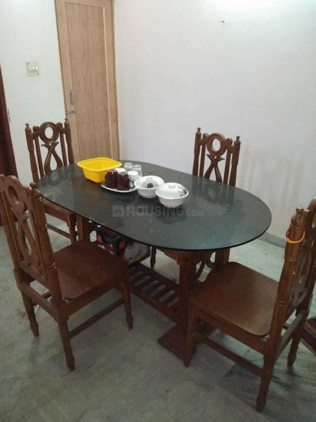Dining Area Image of 835 Sq.ft 2 BHK Independent Floor for rent in Sarada Pally for 12000