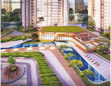 Gallery Cover Image of 997 Sq.ft 2 BHK Apartment for buy in Man One Park Avenue 6, Thane West for 10000000