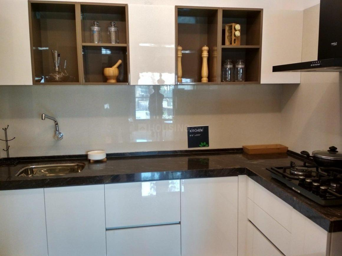 Kitchen Image of 1380 Sq.ft 3 BHK Apartment for buy in Thane West for 13800000