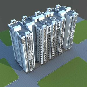 Gallery Cover Image of 1100 Sq.ft 2 BHK Apartment for buy in Hafeezpet for 6160000