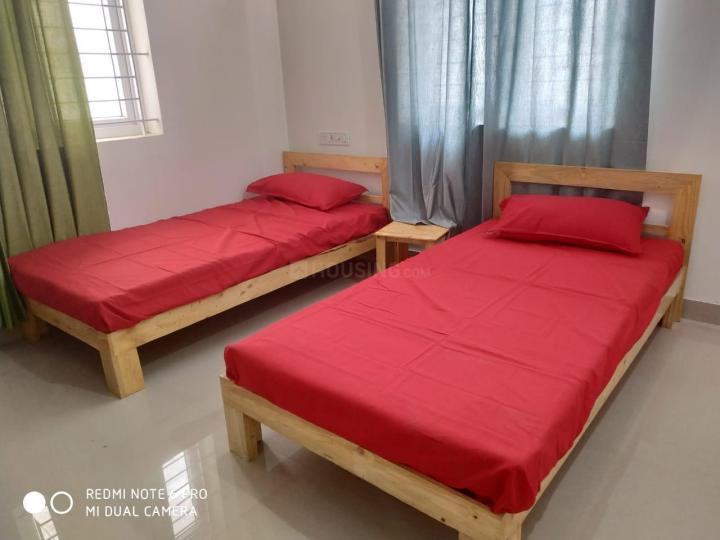 थोरैपक्कम में सजी जेकब नेस्ट के बेडरूम की तस्वीर