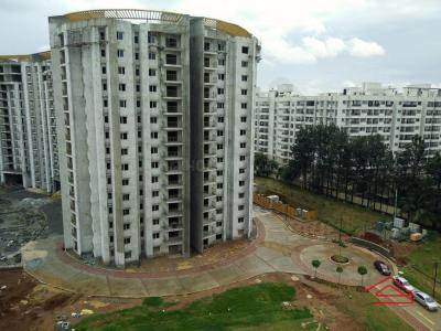 Gallery Cover Image of 1330 Sq.ft 3 BHK Apartment for buy in Brigade Lakefront, Hoodi for 11800000