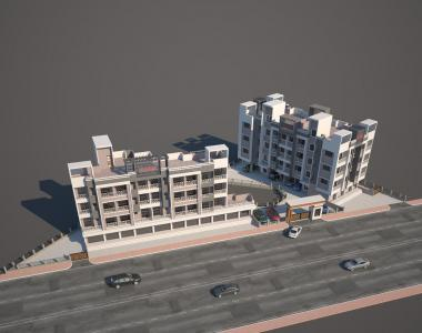 Gallery Cover Image of 660 Sq.ft 1 BHK Apartment for buy in Shelu for 1650000