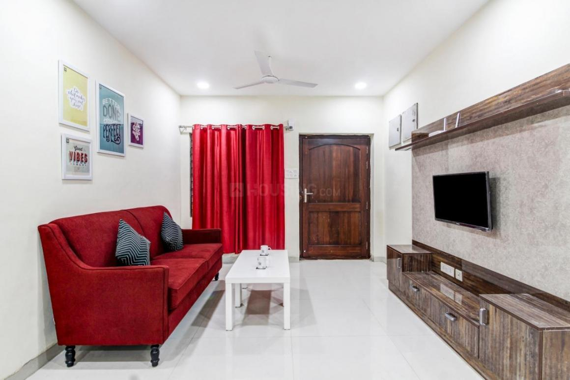 Living Room Image of 350 Sq.ft 1 RK Apartment for rent in Hafeezpet for 17500