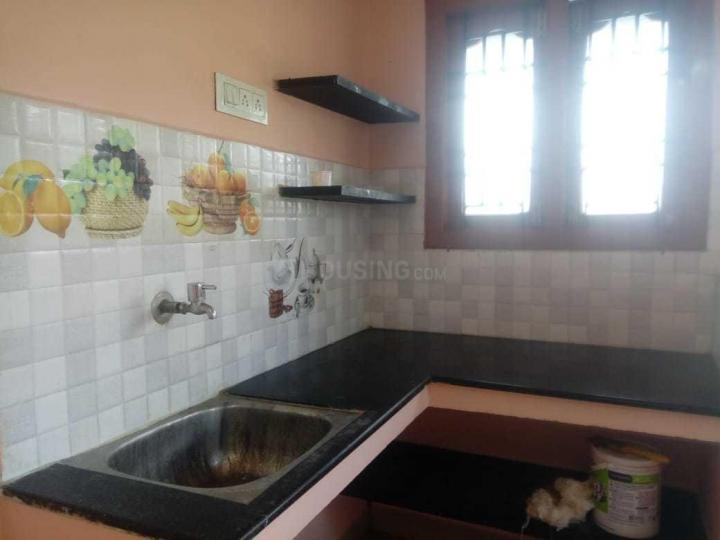 Kitchen Image of 300 Sq.ft 1 RK Independent Floor for rent in Semmancheri for 4500