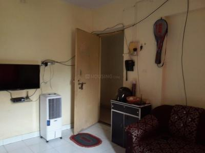 Gallery Cover Image of 650 Sq.ft 1 BHK Apartment for rent in Devi Prasad Green Park CHS, Airoli for 17000