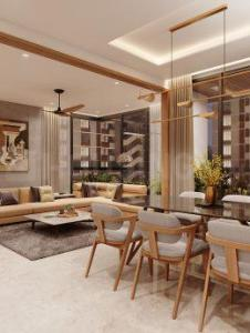 Gallery Cover Image of 3357 Sq.ft 3 BHK Apartment for buy in Satyamev Serene, Chanakyapuri for 15106500