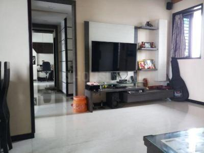 Gallery Cover Image of 1200 Sq.ft 2 BHK Apartment for rent in Swaraj Sairaj CHS, Airoli for 30000