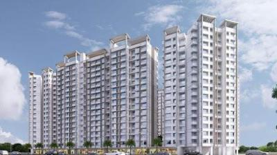 Gallery Cover Image of 605 Sq.ft 2 BHK Apartment for buy in Kalyan West for 4299000