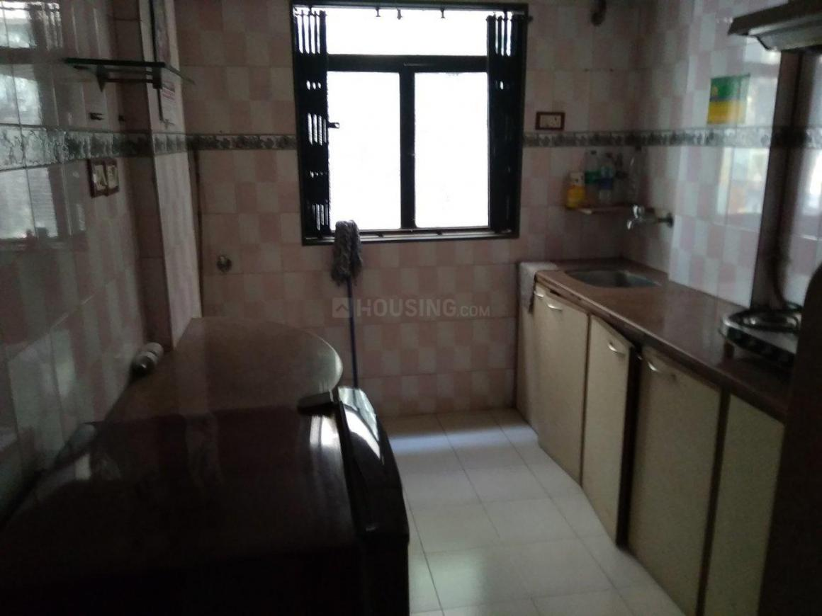 Kitchen Image of 650 Sq.ft 1 BHK Apartment for rent in Jogeshwari West for 31000