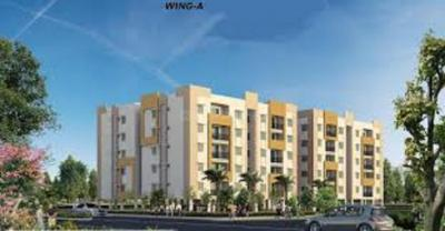 Gallery Cover Image of 1025 Sq.ft 2 BHK Apartment for buy in Ramky Greenview Apartments, Tukkuguda for 3973000