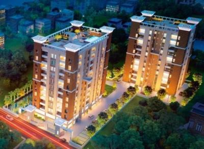 Gallery Cover Image of 977 Sq.ft 3 BHK Apartment for buy in Merlin Next, Sarsuna for 5747000