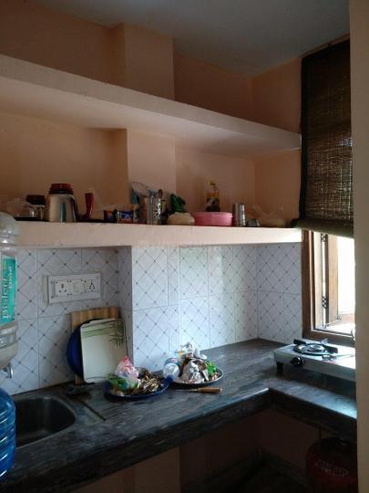 Kitchen Image of Yash PG in Katwaria Sarai