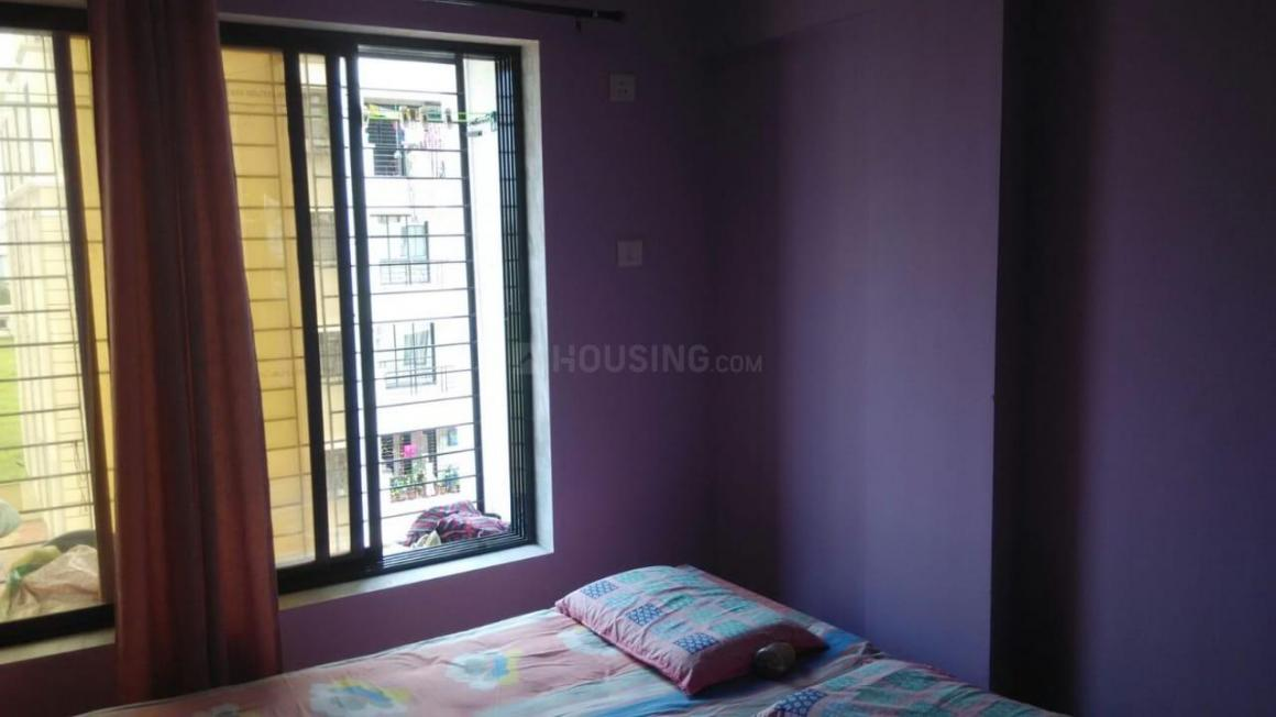 Bedroom Image of 885 Sq.ft 2 BHK Apartment for rent in Gowade for 7500