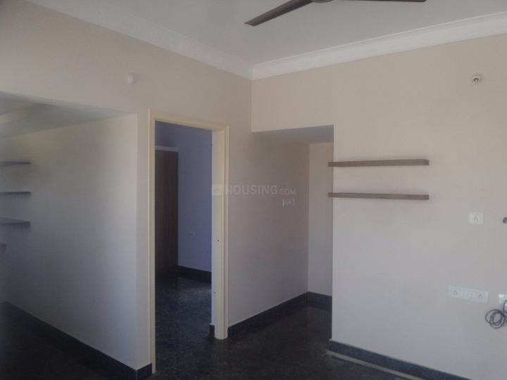 Living Room Image of 750 Sq.ft 1 BHK Apartment for rent in Koti Hosahalli for 12000