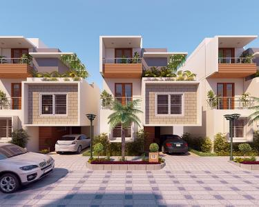 Gallery Cover Image of 1700 Sq.ft 3 BHK Villa for buy in Bangalore City Municipal Corporation Layout for 9800000