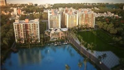 Gallery Cover Image of 820 Sq.ft 2 BHK Apartment for buy in Siddha Water Front, Barrackpore for 2542000