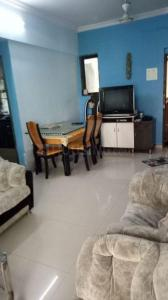 Gallery Cover Image of 670 Sq.ft 1 BHK Apartment for rent in Seawoods for 22000