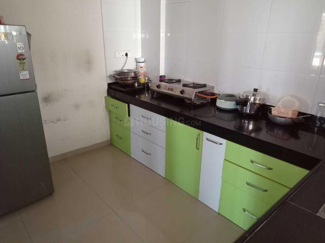 Kitchen Image of 1060 Sq.ft 2 BHK Apartment for rent in Narhe for 17000