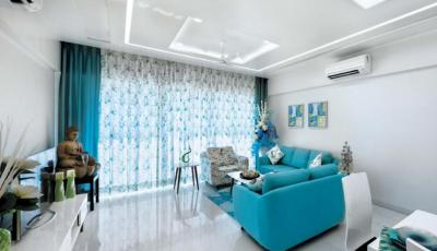 Gallery Cover Image of 2100 Sq.ft 3 BHK Apartment for buy in Concrete Sai Saakshaat, Kharghar for 24500000