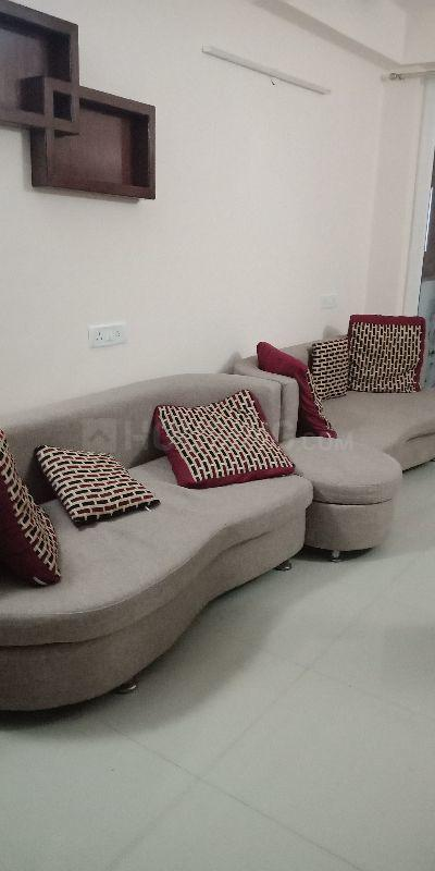 Living Room Image of 1287 Sq.ft 2 BHK Apartment for rent in New Town for 22000