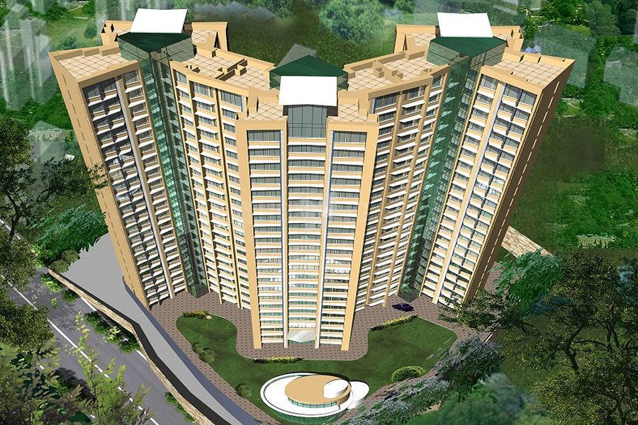 Building Image of 1535 Sq.ft 3 BHK Apartment for rent in Malad East for 45000