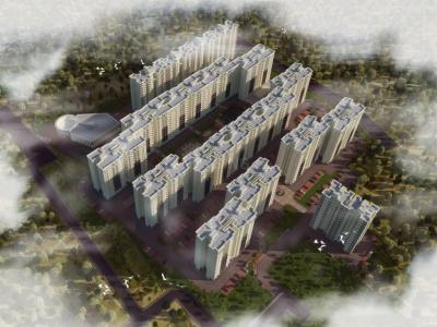 Gallery Cover Image of 1106 Sq.ft 3 BHK Apartment for buy in Judicial Layout for 6867000