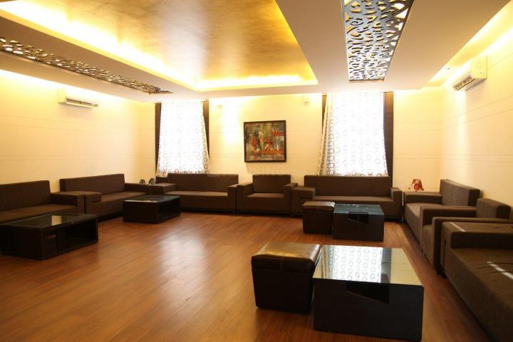 Living Room Image of 1101 Sq.ft 3 BHK Villa for buy in City Villas, Omex City for 2851000