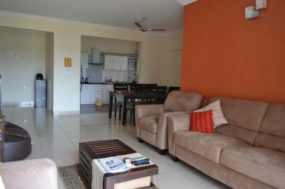 Gallery Cover Image of 1290 Sq.ft 2 BHK Apartment for rent in Hennur Main Road for 25000
