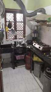 Kitchen Image of Royal Girls PG in Satchashipara