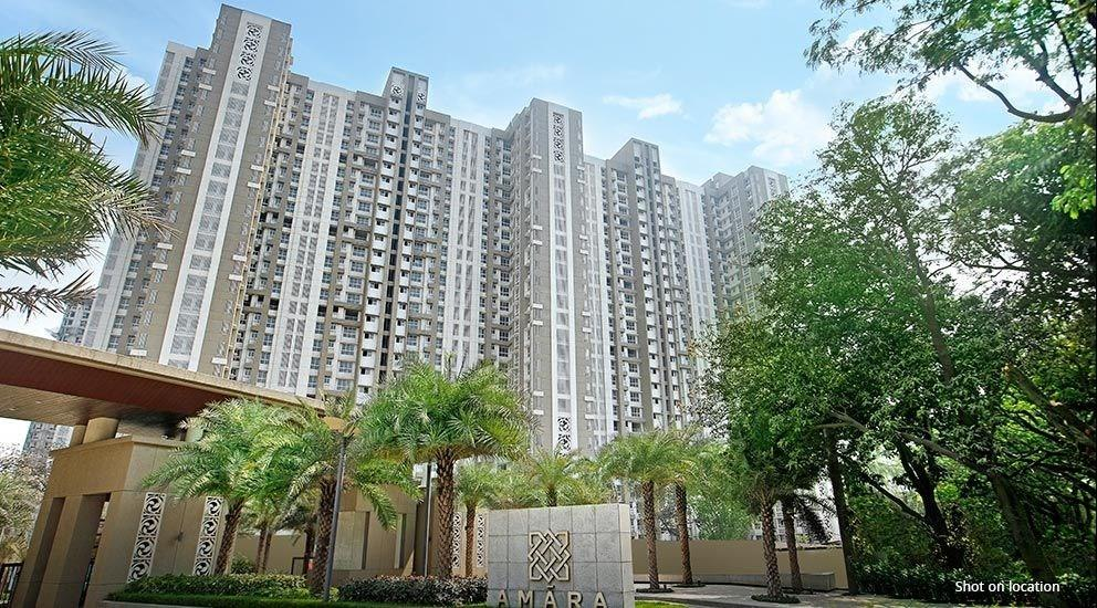 Building Image of 940 Sq.ft 2 BHK Apartment for rent in Thane West for 22000