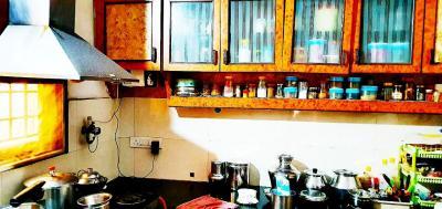Kitchen Image of 1365 Sq.ft 2 BHK Apartment for rent in Samhita Square Apartment, Vibhutipura for 26000
