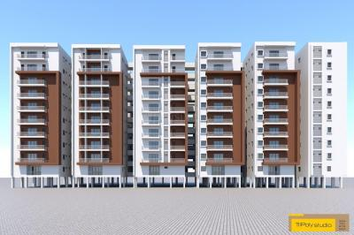Gallery Cover Image of 1200 Sq.ft 3 BHK Apartment for buy in Beeramguda for 5040000