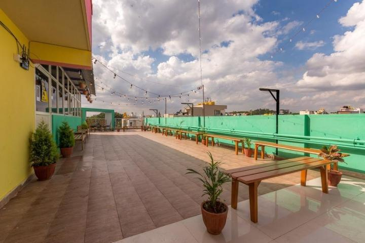 Terrace Image of Helloworld Indiranagar in Murugeshpalya