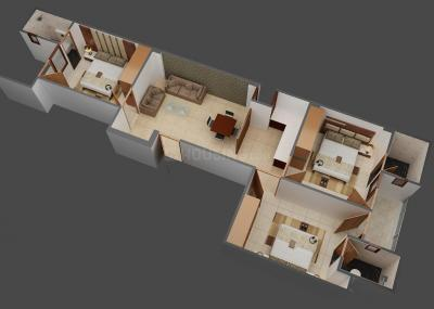 Gallery Cover Image of 1050 Sq.ft 3 BHK Apartment for buy in Sector 7 for 5800008