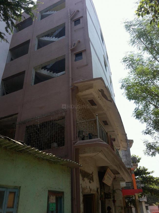 Building Image of 350 Sq.ft 1 RK Apartment for rent in Kopar Khairane for 6000