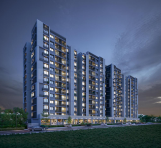 Gallery Cover Image of 1750 Sq.ft 3 BHK Apartment for buy in Ambli for 7000000