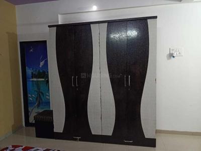 ऐरोली में सनराइज़ होस्टल के बेडरूम की तस्वीर
