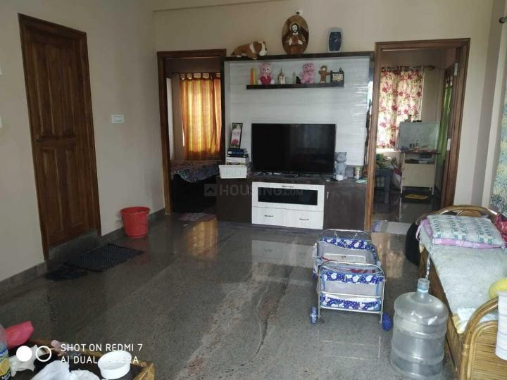 Living Room Image of 1500 Sq.ft 2 BHK Apartment for rent in Murugeshpalya for 27000