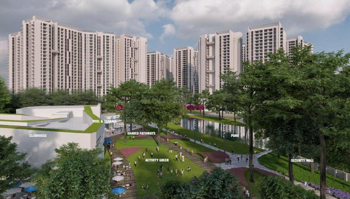 Building Image of 1280 Sq.ft 2 BHK Apartment for buy in Hosahalli for 6400000