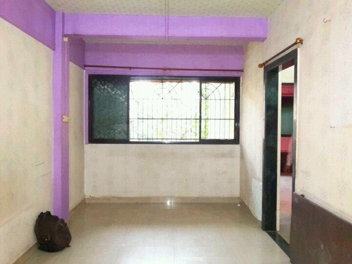Living Room Image of 530 Sq.ft 1 BHK Apartment for rent in Dombivli East for 7500