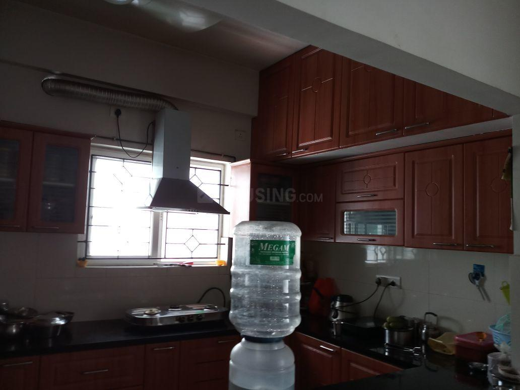 Kitchen Image of 2200 Sq.ft 3 BHK Apartment for rent in Thoraipakkam for 39000
