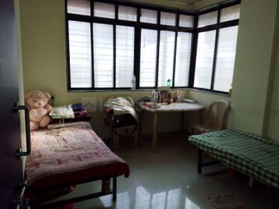 कर्वे नगर में वैभव लेडिज होस्टल के बेडरूम की तस्वीर