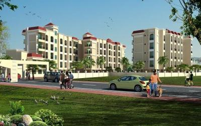 Gallery Cover Image of 635 Sq.ft 1 BHK Apartment for buy in Neral for 2268000