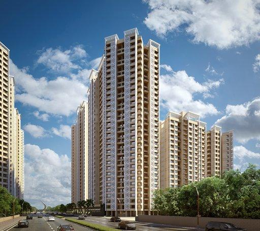 Building Image of 700 Sq.ft 2 BHK Apartment for buy in Kalyan West for 3887000